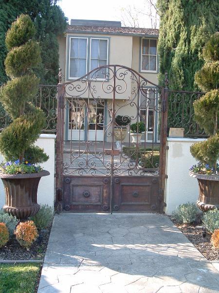 Courtyard Gates Granite Bay Ca Entry Gates Stockton Ca