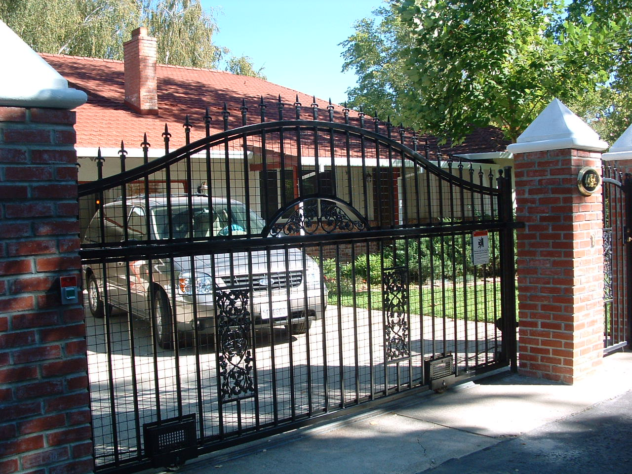 Driveway Gates Citrus Heights Ca Wrought Iron Gates