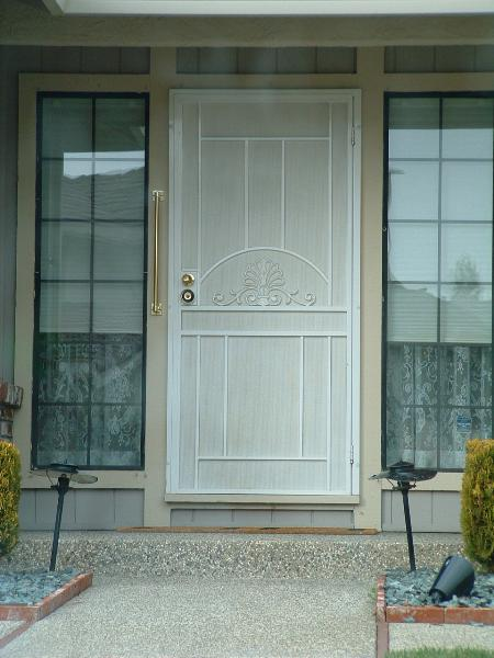 Iron Security Doors Add And Elegance Wrought Door