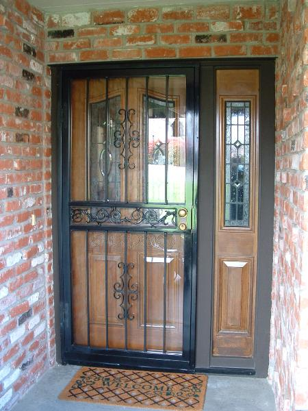 Security Doors For Homes Elk Grove Ca Security Doors Fair