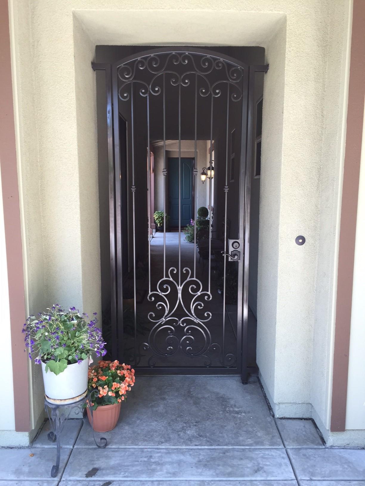 Security Doors For Homes Elk Grove Ca Security Doors Fair