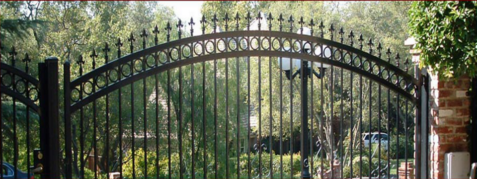 Roseville Wrought Iron Fencing