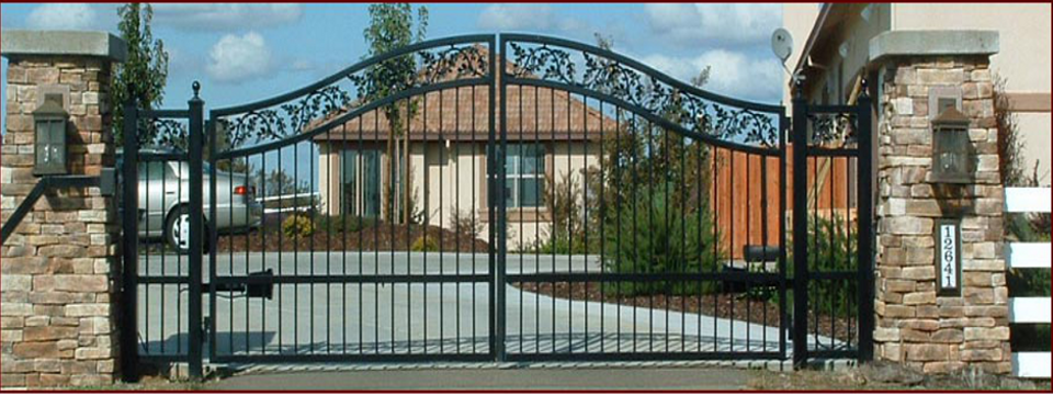Rocklin Wrought Iron Gates